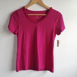 NWT lot of 2 Talbots Tshirts Size Small Petite